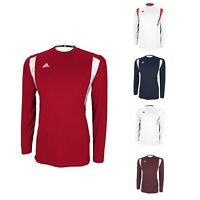 Adidas Climalite Mens Long Sleeve Ultimate Jersey Performance Utility Shirt
