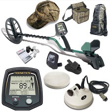 "Teknetics T2 Classic Metal Detector with 11"" DD Search Coil and Accessory Bundle"