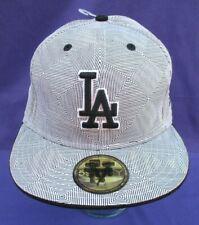 LOS ANGELES LA DODGERS FITTED HAT NEW ERA 59FIFTY MLB BASEBALL CAP 7 1/2 RARE