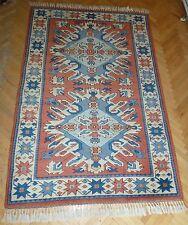"1970's Turko-Kazak Melas Antique Handmade""Never Used""Rug Free Shipping 4Ft x 7Ft"
