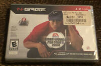 Tiger Woods 2004 for N-Gage Brand New, Factory Sealed Game FREE FAST SHIPPING