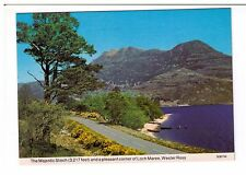 Postcard: The Majestic Slioch and corner of Loch Maree, Wester Ross, Scotland