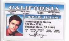Jim Carey - Ace Ventura Pet Dectectivce  -  ID card Drivers License carrey