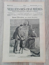 Journal illustré 1909  - Veillées des Chaumières - 18 Août - Dans l'Ornière...
