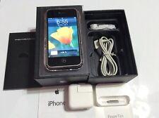 Apple iPhone 1st Generation - 8GB - Black - A1203 (GSM) W/ Original Matching Box