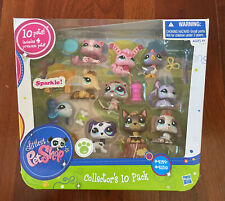 NEW NIP Sealed 2010 Littlest Pet Shop Collector's 10 Pack #2129-2139 LPS Box NIB