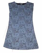 Kidpik Blue Sleeveless Shirt Dress Girls Size Small 7/8