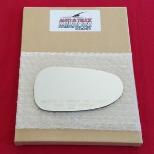 Mirror Glass + Adhesive For Pontiac Solstice, Saturn Sky Passenger Side Replacem