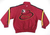 NWOT Vintage Florida State SeminolesLogo Athletic Full Zip Windbreaker Jacket L