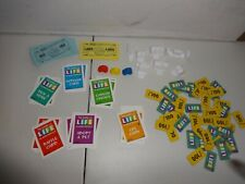 Monsters Inc Game of Life Life Tiles, Money, Cards Replacement Part Disney Board