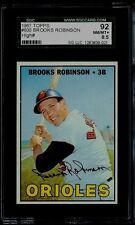 1967 TOPPS #600 BROOKS ROBINSON SGC 8.5 NM-MT+ 92 ORIOLES HOF SP HIGH # NUMBER