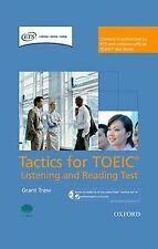(PACK).TACTICS FOR TOEIC LISTENING AND READING TEST.. ENVÍO URGENTE (ESPAÑA)