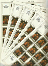 USSR 1983 .. n° Sol. 5451 .. 5 Full Sheets MNH ** 20к - Юрген Овенс Автопортрет