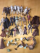 Lot STAR WARS Action Figures Missing Parts Used Hasbro Mixed Accessories