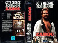 (VHS) Tatort: Schimanski - Zabou - Götz George, Claudia Messner, Eberhard Feik
