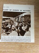 S5 ephemera 1947 picture u s s benville indonesia conference dr f p graham