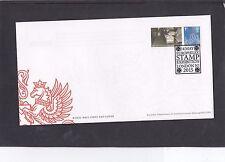 GB 2015 EUROPHILEX stamp sheet + Post Office Rail on tab FDC EUROPHILEX spec pmk