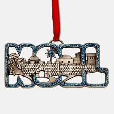 COME TO BETHLEHEM AND SEE ORNAMENT OF FAITH® & GIFT TAG Fast USA Shipping!