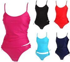 Strappy, Spaghetti Strap Patternless Swimwear for Women
