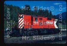 Original Slide CP RAIL Torpedo Tube 8521 In 1981 At Revelstoke BC