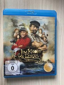 """Blu-Ray """"Jim Knopf & Lukas der Lokomotivführer"""" mit Henning Baum"""