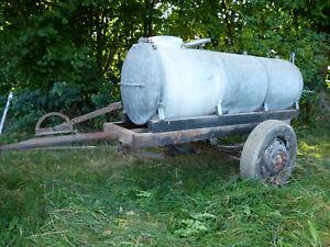 Wasserfass-Anhänger, Weidefass, Einachser - Wasserwagen, Landwirtschaft