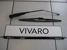 Wischerarm & Wischerblatt hinten orig. Vivaro A mit Heckklappe vom Opel Händler