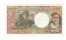 NEW CALEDONIA  - 1000 Francs, 1971