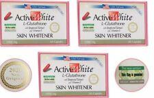 Active White L-Glutathione 1000mg 60 Pilules pour Blanchissement de Peau