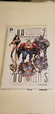 JLA EARTH 2 THE DELUXE EDITION BY MORRISON & QUITELY~ DC HARD COVER NEW SEALED