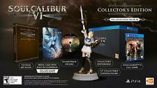 Soul Calibur VI: Collector's Edition PS4 w/ Sophitia Statue, Artbook, Soundtrack