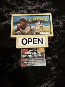 CAMEL CIGARETTES ADVERTISING.