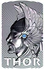 Zippo THOR 3D Emblem - with blue Svarowski Element  - Ltd Ed.0001-1000 NEU+OVP