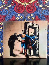 Superman Metal Detector Canvas Print