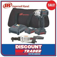 "Ingersoll Rand Lithium-Ion 12V 3/8"" 2Pc Impact Wrench + Ratchet Kit WR1130AN-K2"