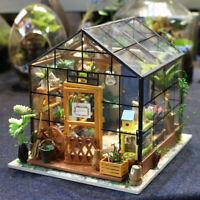Rolife DIY Puppenhaus Miniatur Holzmöbel Geschenk für Mädchen Fee Gartenhaus