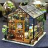 Garten Puppenhaus Hölzerne Miniatur-Kits Cathys Blumenhaus Geschenk für Mädchen
