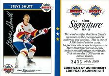 Zellers Masters of Hockey Signature Series: Autograph Card of Steve Shutt # 22