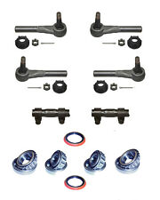 12 Piece Tie Rod Wheel Bearing & Seal Kit fits Chevy C10 C20 C30 +more 1975-1986