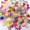 100pcs Random mixed style flatback Resin Cabochons Scrapbook Craft DIY buttons