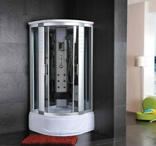 Cabina Idromassaggio 90x90 Box doccia ozonoterapia Vasca Sauna Bagno Turco |2