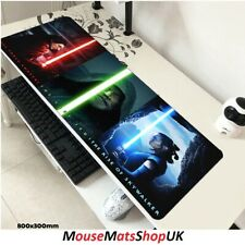 Star Wars Extra Large Gaming Mouse Pad Non-Slip f/ PC Laptop Office Desk 80x30cm