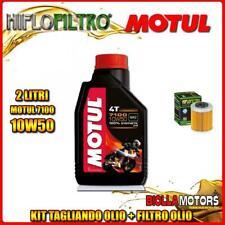 KIT TAGLIANDO 2LT OLIO MOTUL 7100 10W50 KTM 690 Enduro R 1st Oil Filter 690CC 20
