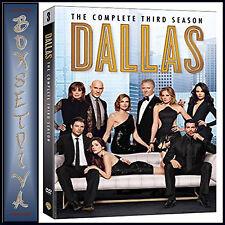DALLAS- COMPLETE SEASON 3 ***BRAND NEW DVD***