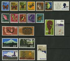 New Zealand   1970-71   Scott # 438-458    Mint Never Hinged Set