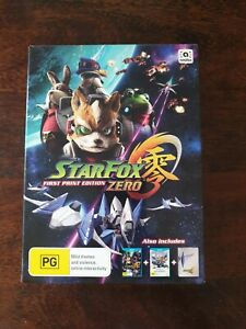 Star Fox Zero Wii U First Print Edition