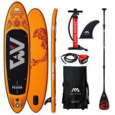 New listing Aqua Marina Fusion Sup-Set Stand Up Paddle Inflatable Board Isup Paddle Surf New