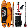 Aqua Marina Fusion SUP-Set Stand Up Paddle Inflatable Board ISUP Paddel Surf NEU