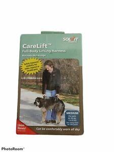 NEW IN BOX Solvit CareLift FULL BODY Medium Dog Lifting Harness 35-70 lbs NEW