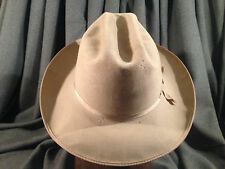 Stetson 3X Open Road Beige Fedora Men's Hat Stetson Pin Cattleman Crease 7